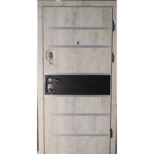 Бронированная дверь Luxe Цезарь бетон