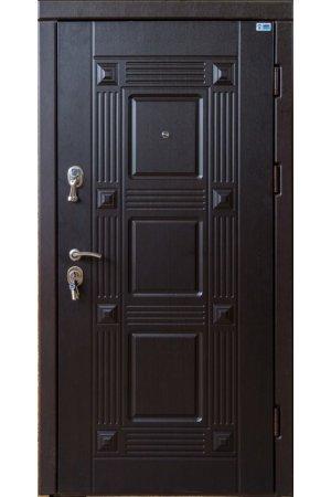 Бронированная дверь Luxe Квадро венге южное