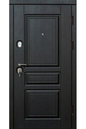 Бронированная дверь Luxe Прайм венге южное, белое дерево