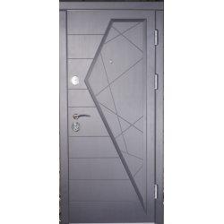 Бронированная дверь Luxe Айсберг графит