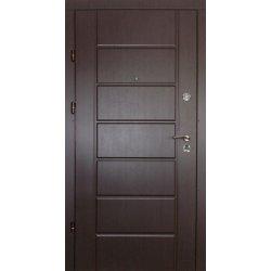 Входная дверь Redfort Премиум Канзас 2 цвета Венге