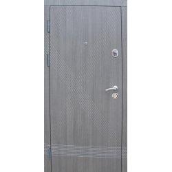 Входная дверь Redfort Премиум Диагональ Серый