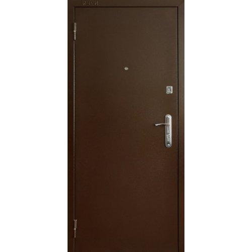 Входная утепленная дверь Портала Антик 130 орех темный