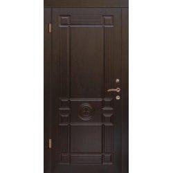 Входная дверь Портала Монарх орех темный