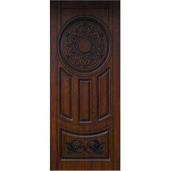 Входная дверь Портала Люкс каштан патина