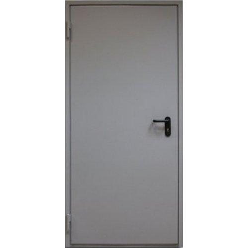 Противопожарная дверь Киевдвери EI-30 серая шагрень