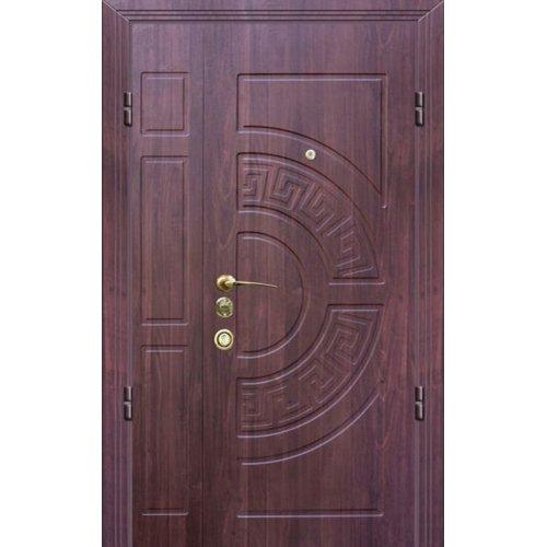 Входная двери 1200 Элегант Портала Греция 2 каштан светлый