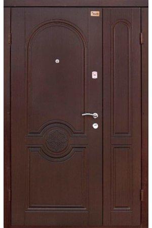 Входная двери 1200 Комфорт Портала Омега каштан темный