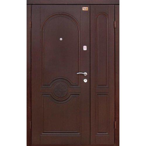 Входная двери 1200 Элегант Портала Омега каштан темный