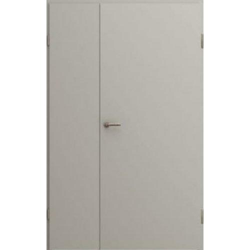 Противопожарная дверь Киевдвери EI-30 (ширина 1200 мм) RAL 7035