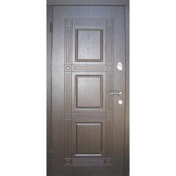 Входная дверь Redfort Эконом Квадро Венге