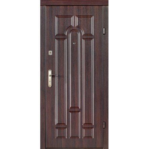 Входная дверь Redfort Эконом Арка Темный орех