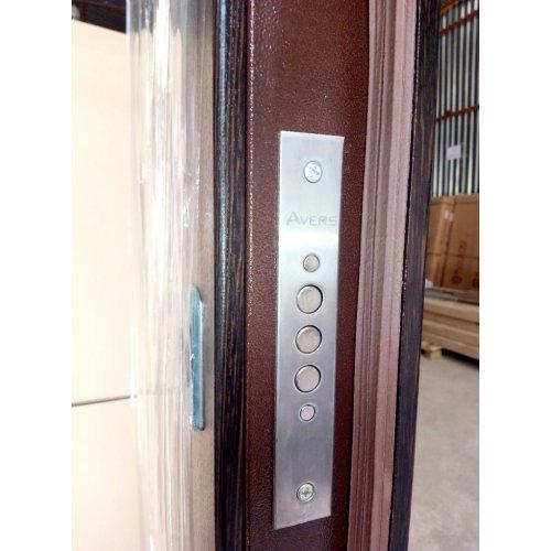 Входная дверь Redfort Эконом Арка Дуб бронзовый