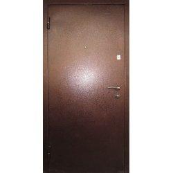 Входная дверь Redfort Эконом Металл Арка Темный орех