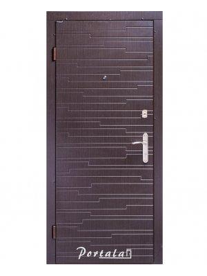 Дверь Комфорт Эстепона венге/венге светлый гладкий