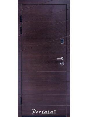 Дверь Премиум Диагональ-2 венге темный горизонт