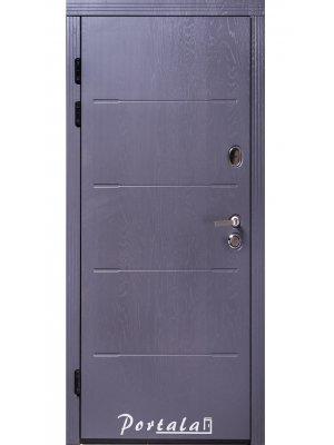 Дверь Премиум Токио-2 серая структура/белая структура