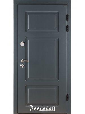 Дверь Трио Белфаст RAL7016/бетон кремовый