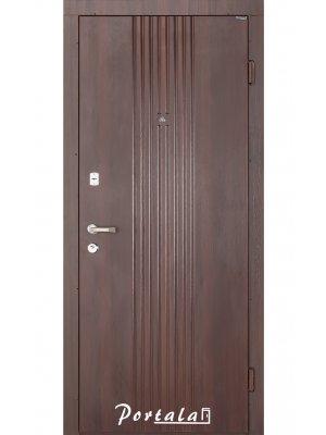 Дверь Элегант Лайн-2 темный орех