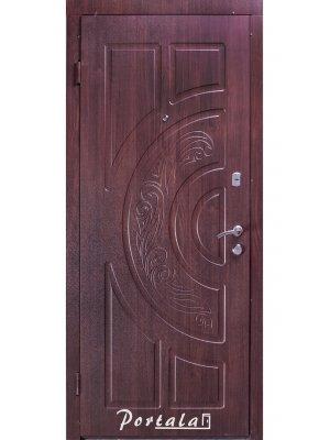 Дверь Элегант Рассвет темный орех