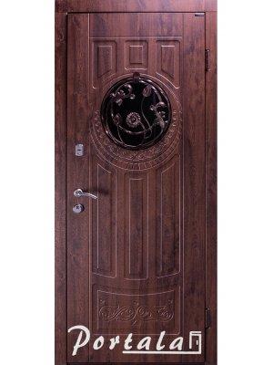 Дверь Элегант Модель №5 бронзовый дуб