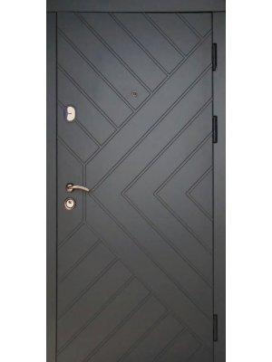 Дверь Премиум Гранит серый тисненый