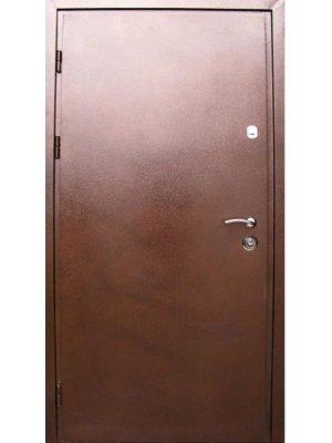 Дверь Премиум Металл/МДФ дуб бронзовый