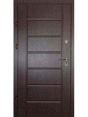 Дверь Премиум Канзас венге/ясень белый структурный