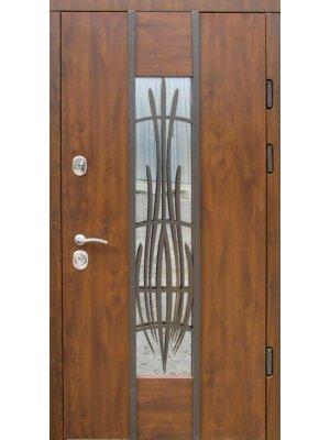 Дверь Эталон Авеню дуб бронзовый (+ковка)