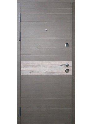 Дверь Элит Тифани венге серый + дуб альпийский