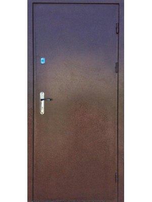 Дверь Эконом Металл/МДФ дуб бронзовый