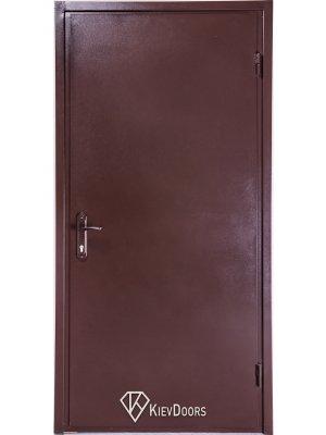 Дверь Металл/ДСП венге