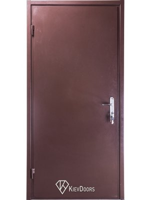 Дверь Металл/ДСП венге (притвор)