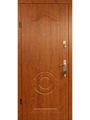 Дверь Эконом Лондон золотой дуб