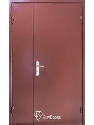 Дверь 120 Металл/ДСП венге (притвор)