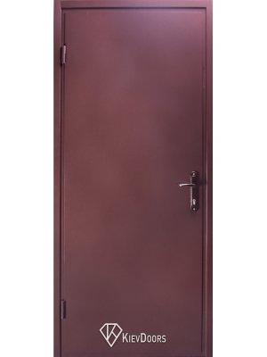 Техническая дверь металл RAL 8017