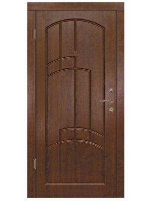 Дверь Элегант Сиеста дуб бронзовый/дуб золотой