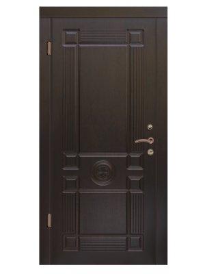 Дверь Люкс Монарх темный орех