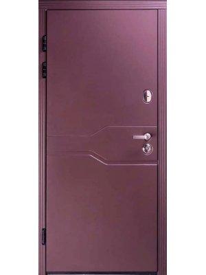 Дверь Премиум Лозана RAL 8019 тефлон/какао супермат