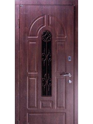 Дверь Элегант Модель №4 темный орех