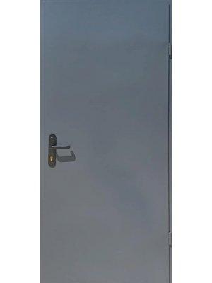 Техническая дверь 2 листа металла RAL7024