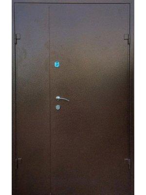 Полуторная Дверь Оптима Металл/мдф дуб бронзовый