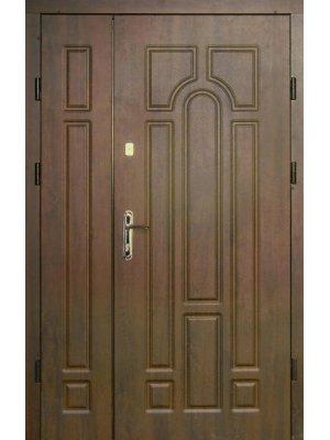 Дверь Оптима Арка 120 дуб бронзовый