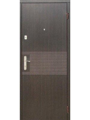 Дверь Эконом Лайн венге/ясень белый структурный