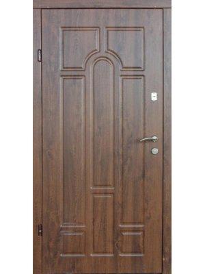 Дверь Оптима Арка дуб бронзовый