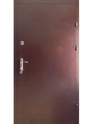 Дверь Оптима Металл/металл с притвором