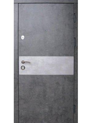 Дверь Премиум Грей мрамор темный + бетон метлик