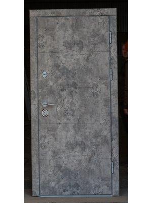 Дверь Вип+ алиса базальт лофт/сосна прованс (+зеркало)