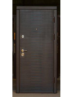 Дверь Вип+ лесенка венге горизонт с патиной