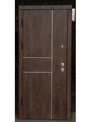Дверь Вип+ корица дуб шале с молдингами